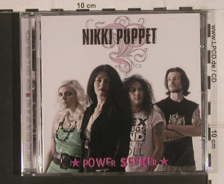 Nikki Puppet: Power Seeker, FS-New, Artist Station Records(ASR-026), D, 2008 - CD - 99627 - 10,00 Euro