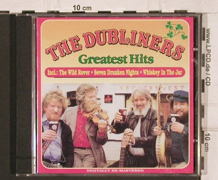 Dubliners: Greatest Hits, 20 Tr., Outlet Rec.(IRISH 007), IRE, 1990 - CD - 81975 - 10,00 Euro