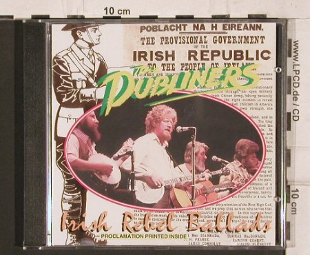 Dubliners: Irish Rebel Ballads, Derry Records(CDBL 523), UK,  - CD - 81976 - 12,50 Euro