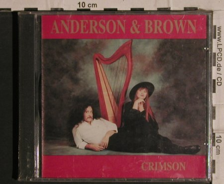 Anderson & Brown: Crimson, FS-New, A&B(102 CD), CDN, 1991 - CD - 82055 - 12,50 Euro