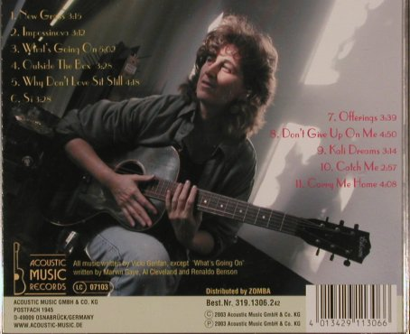 Genfan,Vicki: Live, Acoustic Music(), D, 2003 - CD - 83855 - 6,00 Euro