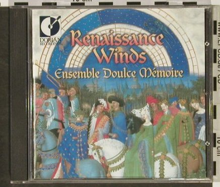Ensemble Doulce Memoire: Renaissance Winds,16th CenturyMusic, Dorian Recordings(DOR-90261), US, 1999 - CD - 92932 - 12,50 Euro