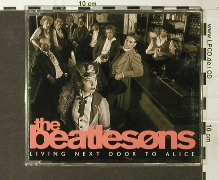 Beatlesons: Living Next Door To Alice+2, BMG(), D, 1995 - CD5inch - 93778 - 4,00 Euro
