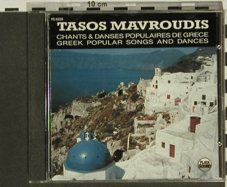 V.A.Tasos Mavroudis: Greek Popular Songs, Playa Sound(), F, 1989 - CD - 94342 - 7,50 Euro
