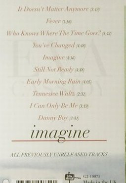 Cassidy,Eva: Imagine, FS-New, BlixStreet(G2-10075), UK, 2002 - CD - 95129 - 11,50 Euro
