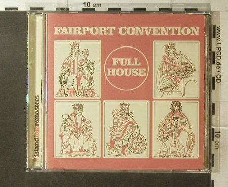 Fairport Convention: Full House '70 , 12 Tr., Island(), EU, 2001 - CD - 95996 - 10,00 Euro