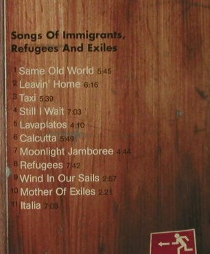Schwarz,Willy: Home-Songs Of Immigrants..., Clearspot(), D, 2001 - CD - 97196 - 7,50 Euro