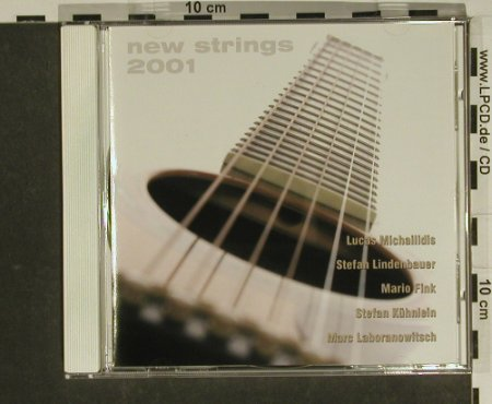 V.A.New Strings 2001: Stefan Lindenbauer..Stefan Kühnlein, Acoustic Music(AG 004), D, 2002 - CD - 97459 - 4,00 Euro