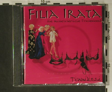 Filia Irata: Tinnitussi, FS-New, Devox(CD 0815), D, 2004 - CD - 98530 - 15,00 Euro