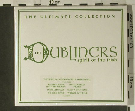 Dubliners: Spirit Of The Irish, FS-New, Sanctuary(TVSAN003), UK, 2003 - CD - 98610 - 20,00 Euro