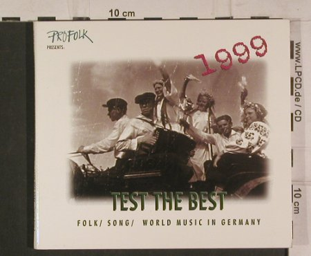 V.A.Test the Best: Folk/Song/World Music in Germany, FroFolk, Digi(), Booklet, 1999 - CD - 99884 - 5,00 Euro
