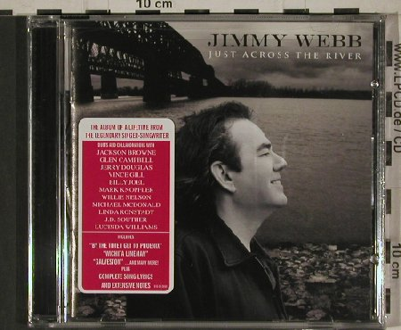 Webb,Jimmy: Just Across the River, FS-New, E1(E1E-cd-2068), US, 2010 - CD - 80619 - 7,50 Euro