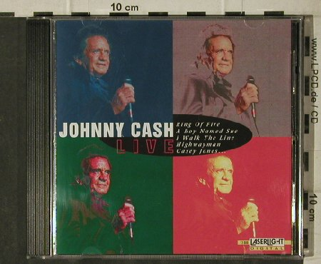 Cash,Johnny: Live, LaserLight(12 888), D, 1997 - CD - 81679 - 5,00 Euro