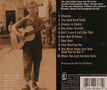 Jones,George: Cold Hard Truth, Asylum(), D, 1999 - CD - 83858 - 10,00 Euro