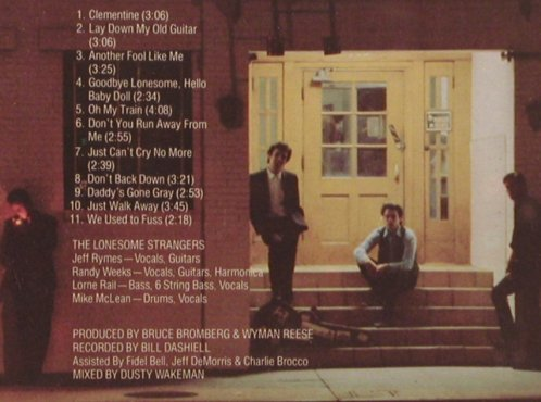 Lonesome Strangers: Same, Hightone(HCD 8016), , 1989 - CD - 83865 - 7,50 Euro