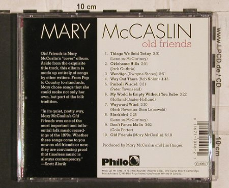 McCaslin,Mary: Old Friends, Rounder(), CDN, 1996 - CD - 83866 - 7,50 Euro