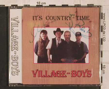 Village-Boys: It's Country Time,4 Tr., H.Kurze(), D,  - CD5inch - 83877 - 5,00 Euro