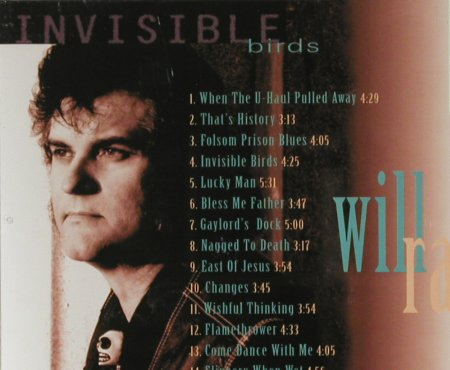 Ray,Will: Invisible Birds, vg+/m-, Country Town Music(DFGCD 8449), F, 1996 - CD - 83880 - 6,00 Euro