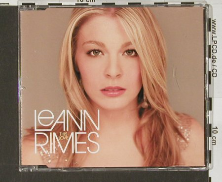 Rimes,LeAnn: This Love,1Tr.Promo, Curb(), EU, 2003 - CD5inch - 83884 - 3,00 Euro