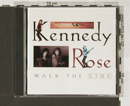Kennedy Rose: Walk the Line, vg+/m-, Pangeae(), , 1994 - CD - 83896 - 5,00 Euro