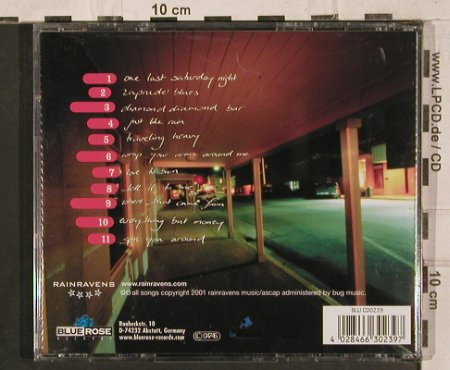 Rainravens: One Last Saturday Night, Blue Rose(0239), D, 2001 - CD - 83900 - 7,50 Euro