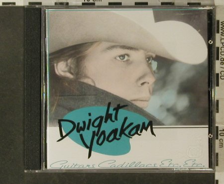Yoakam,Dwight: Guitars,Cadillacs,etc.,etc., Reprise(), D, 1986 - CD - 83912 - 7,50 Euro
