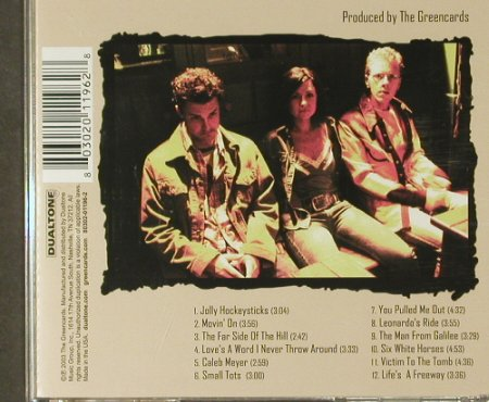 Greencards: Movin' On, Dualtone(), US, 2003 - CD - 83913 - 10,00 Euro