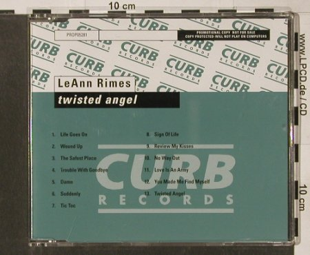 Rimes,LeAnn: Twisted Angel, 13 Tr. Promo, Curb(5281), D, 2002 - CD - 90177 - 7,50 Euro