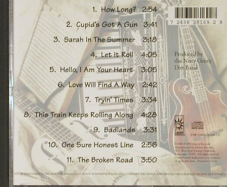 Nitty Gritty Dirt Band: Acoustic, WB(), US, 94 - CD - 91218 - 10,00 Euro