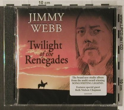 Webb,Jimmy: Twilight of the Renegades, FS-New, Sanctuary(), EU, 2005 - CD - 92243 - 7,50 Euro