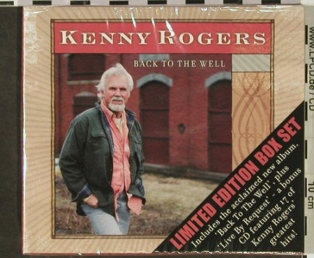 Rogers,Kenny: Back To The Well, Lim.Ed., FS-New, Dreamcatcher(SANDD129), UK, 2003 - 2CD - 92952 - 9,00 Euro