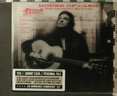 Cash,Johnny: Personal File, Columbia/Legacy(), EU, 2006 - 2CD - 96113 - 12,50 Euro