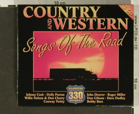V.A.Country & Western: Songs of the Road, Box, Ganser & Hanke(), ,  - 3CD - 96787 - 7,50 Euro