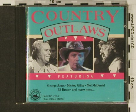 V.A.Country Outlaws: George Jones...Freddy Weller,20 Tr., MCR(2631062), NL, 1990 - CD - 97069 - 5,00 Euro