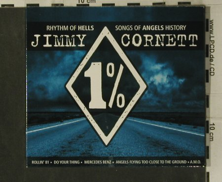 Cornett,Jimmy: Rhythm of Hell, Angels History,Digi, J.C./M.A.T.(231686), D, 2007 - CD - 99194 - 7,50 Euro