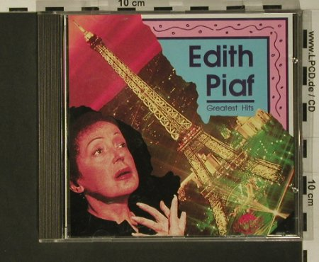 Piaf,Edith: Greatest Hits, Universe(UN 2 010), EEC, 1990 - CD - 50816 - 5,00 Euro