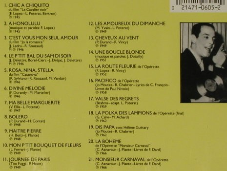 Guetary,Georges: In Paris, DRG Rec.(CDXP 605), , 1988 - CD - 50905 - 5,00 Euro