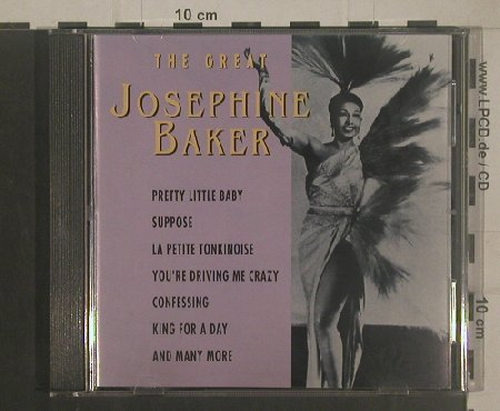 Baker,Josephine: The Great ( rec. 1930-32, Paris), Goldies(GLD 63130), P, 1993 - CD - 50925 - 5,00 Euro