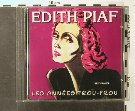 Piaf,Edith: Les Annees Frou-Frou,Best France, Belle Musica(BFD 1001), F, 1985 - CD - 51597 - 5,00 Euro
