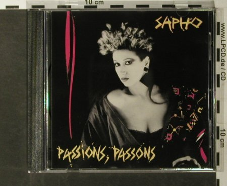 Sapho: Passions,Passions, Anti Gel(CEL 6770), F,  - CD - 55802 - 10,00 Euro