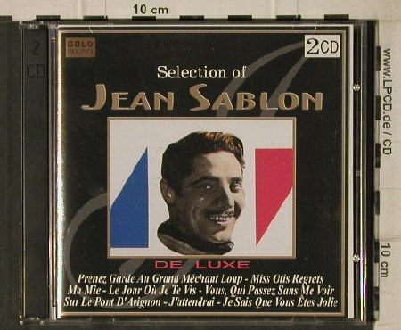 Sablon,Jean: Selection of, 36 Tr., Gold Sound(), , 1997 - 2CD - 57587 - 5,00 Euro