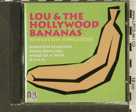 Lou & the Hollywood Bananas: Kingston Kingston, M&S(), D, 1994 - CD - 69360 - 5,00 Euro