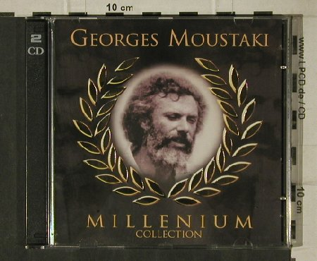 Moustaki,George: Millenium Collection, Berger/Selected(5981), D, woc, 1999 - 2CD - 81406 - 5,00 Euro