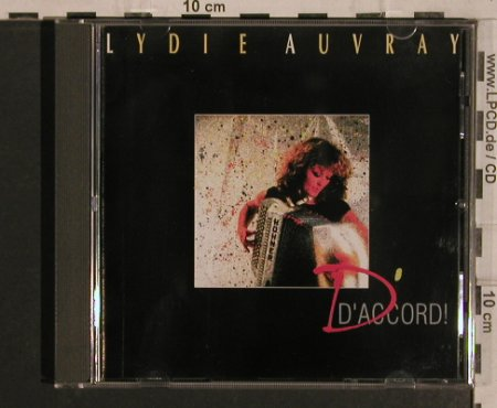 Auvray,Lydie: D'Accord, Pläne(88580), D, 1987 - CD - 82062 - 7,50 Euro
