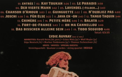 Auvray,Lydie: Soiree, Westpark(87158), D, 2008 - CD - 99877 - 10,00 Euro