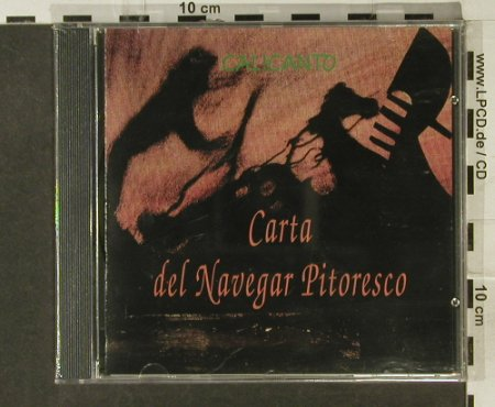 Calicanto: Carta De Navegar Pitoresco(Venice), SNT(30692), I, FS-New, 1992 - CD - 94749 - 5,00 Euro