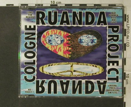 Cologne-Ruanda Project: Song For Ruanda*3, Columbia(), A, 1994 - CD5inch - 50239 - 2,50 Euro