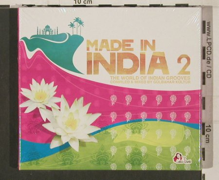 V.A.The World Of India 2: The World o.IndianGrooves,G.Kültür, Lola's World(), Digi,FSnew, 2009 - 2CD - 80034 - 10,00 Euro
