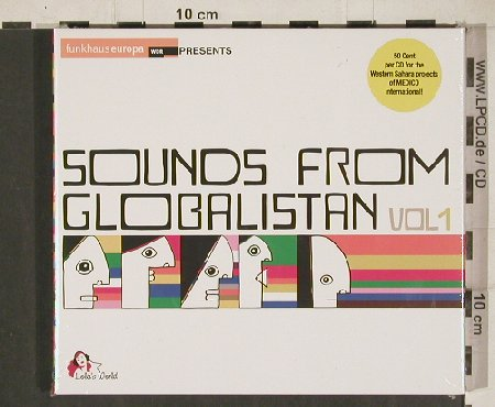 V.A.Sounds from Globalistan Vol.1: 17 Hippies...Sarazino, Digi, FS-New, Lola's World(CLS0002122), , 2010 - 2CD - 80953 - 10,00 Euro