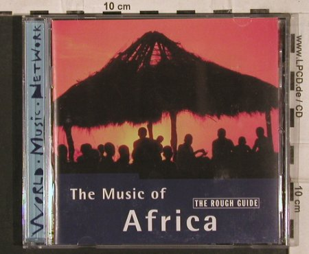V.A.The Rough Guide:  to the Music of Africa,15Tr., World M.N.(), UK, 1999 - CD - 84039 - 7,50 Euro